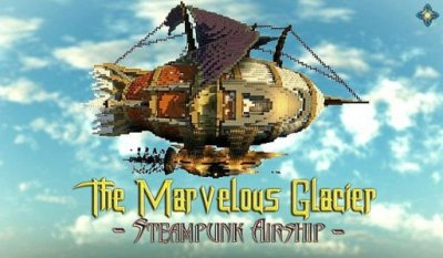 Карта The Marvelous Glacier – Steampunk Airship