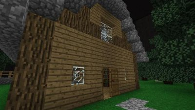 Карта Slender The Arrival Adventure Map для MCPE 0.8.1