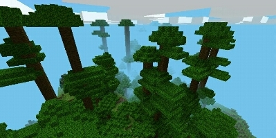Jungle Mod v0.1 для MCPE 0.8.1