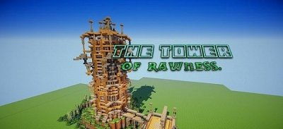 Карта The tower of Rawness minecraft PE 0.9.5