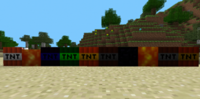 Мод TOO MUCH TNT MOD для Minecraft PE 0.9.x