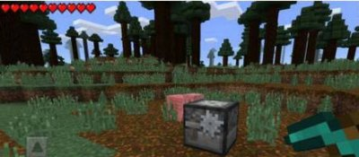Мод Lucky Blocks Black для MCPE 0.11.1