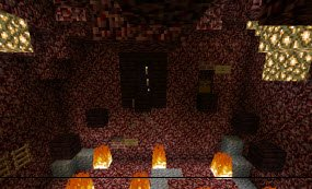 Карта Welcome to the Nether для Minecraft PE