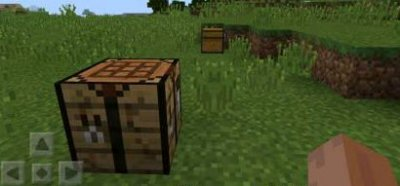 Мод Walking Blocks для Minecraft PE 0.11.1