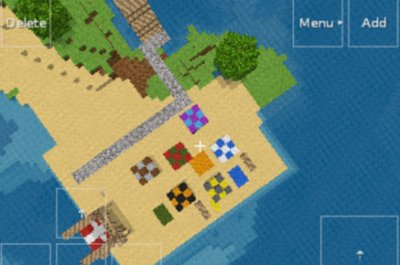 Карта для Explaartion Beach Map