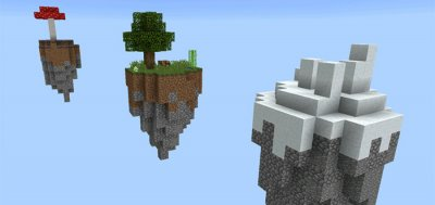 Карта SkyBlock Quests [0.14.1]
