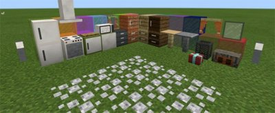 Мод PocketDecoration v8.0 для MCPE 0.16.x