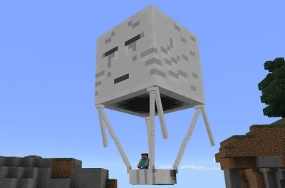 Мод Hot Air Balloon для MCPE 1.0.0