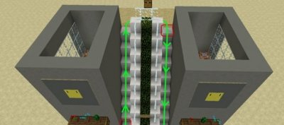 Карта Working Escalator для MCPE 1.1