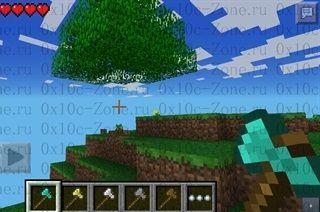TreeCapitator для MCPE 0.8.0/0.8.1