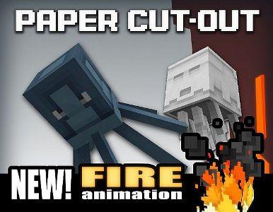 PAPER CUT-OUT для MCPE 0.8.1
