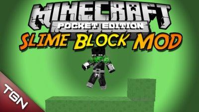 SLIME BLOCK V1.0 для MCPE 0.8.1