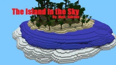 Карта THE ISLAND IN THE SKY для MCPE 0.9.0