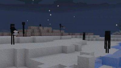 Скрипт на ендермена для Minecraft PE