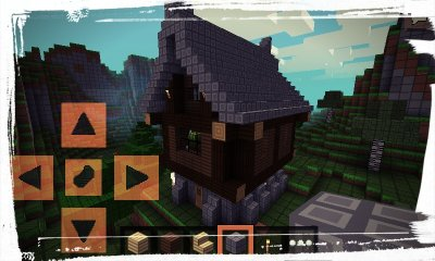 Красивый средневековый дом для PE 0.8.1