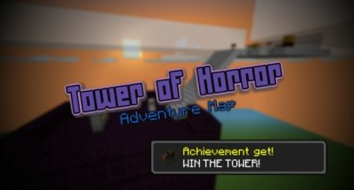 Карта TOWER OF HORROR для MCPE 0.8.1