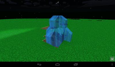 Мод «5 новых криперов» для Minecraft 0.8.1