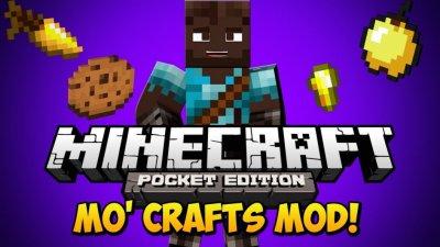 Новый мод «MO'CRAFTTS» — крафт новых предметов!
