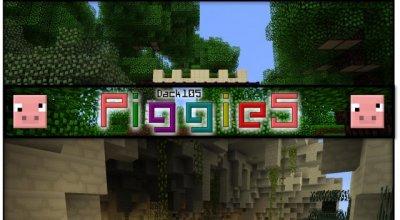 Текстурпак «Piggies!» — добавим немного мультяшности в Майн!