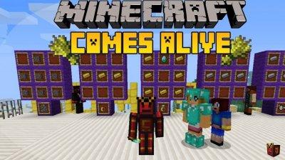 Мод, с которым Minecraft оживает — Comes Alive