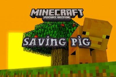 Карта «Спасение свиньи» — мини-миссии с паркуром и приключениями