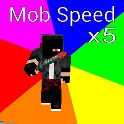 Мод Mob Speed x5 для MPCE
