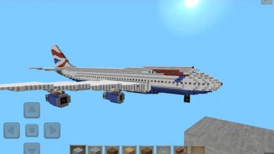 Карта «Boeing 747″ — просто самолет