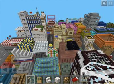 Эпичный мега-город «New Metaron»