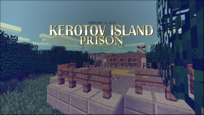 Карта «Тюрьма на острове Керотов» на майнкрафт PE 0.8.1