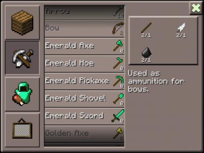 Текстур-пак Emerald для MCPE 0.8.1
