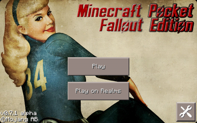 Текстуры Minecraft Pocket Fallout Edition