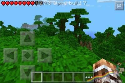 Джунгли для Minecraft Pocket Edition 0.9.0