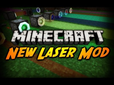LASER MOD для Minecraft 0.8.1
