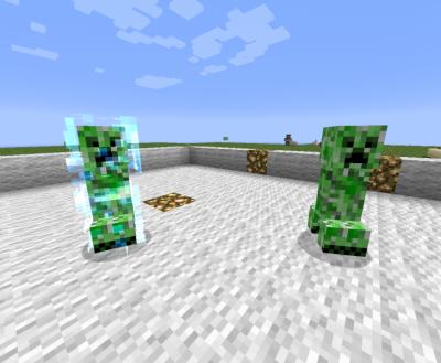 Скин крипера для Minecraft 0.9.0
