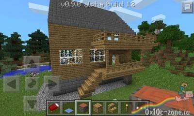Дом для выживания для Minecraft Pocket Edition 0.9.0