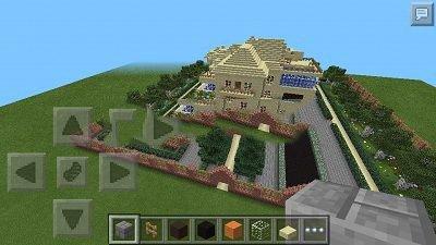 Detached-house для minecraft pocket edition 0.9.0/0.9.1