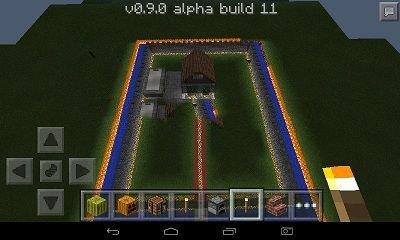Большой дом для Minecraft PE 0.9.1