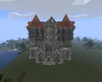 Огромный замок для 0.9.0