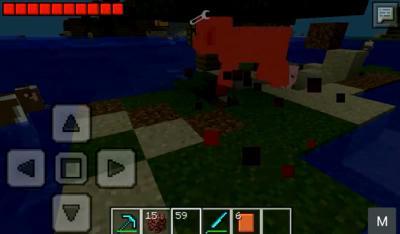 Мод на кровь для Майнкрафт PE 0.9.0