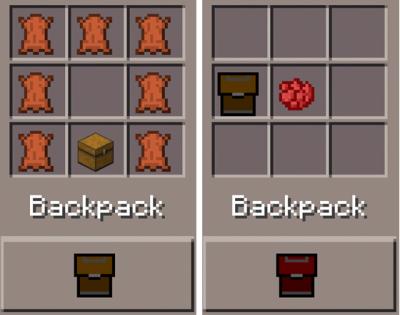 Мод на рюкзаки Backpack для 0.9.4, 0.9.5