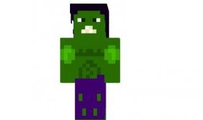 Скин Халка для Minecraft PE