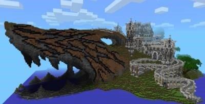 Карта Акулья Земля для Minecraft PE 0.9.5