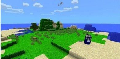 Текстуры Doctor who Texture pack для Minecraft PE 0.9.5