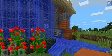 Карта Круглый дом для Minecraft PE 0.9.5