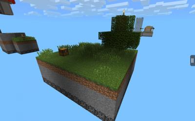 Карта Skypiea для minecraft PE 0.9.5
