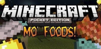 Мод Mo' Food для Minecraft PE 0.9.5