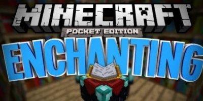 Мод на зачарование для Minecraft PE 0.9.5
