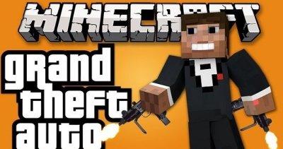 Подборка скины GTA для Minecraft PE