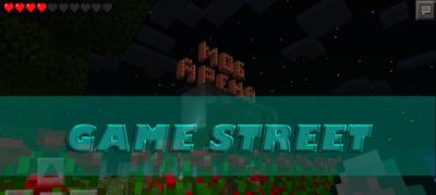 "Карта ""Game Street"" для Minecraft PE 0.9.x"