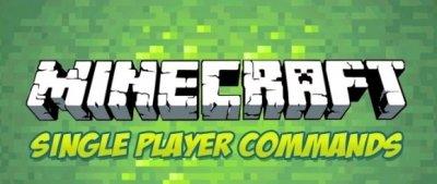 Мод Single Player Commands для Minecraft PE 0.9.5